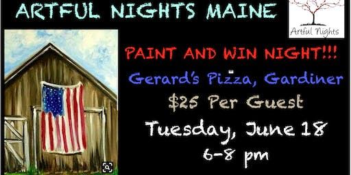 Paint N' Party Night at Gerard's Pizza