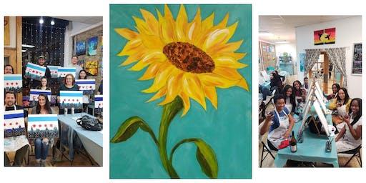 "BYOB Sip & Paint Event - ""Sunflower"""