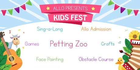 Kids Fest featuring Petting Zoo! tickets