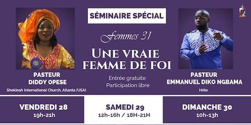 SÉMINAIRE DES FEMMES ( du 28 au 30 juin 2019)