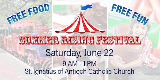 Summer Rising Festival at St. Ignatius of Antioch Catholic Church