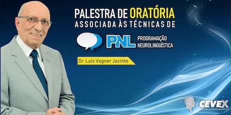 Palestra - Oratória com PNL ingressos