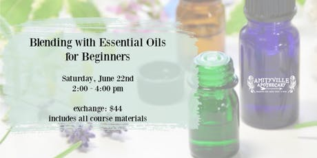 Blending with Essential Oils for Beginners tickets