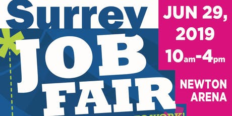 Surrey Job Fair 2019 tickets