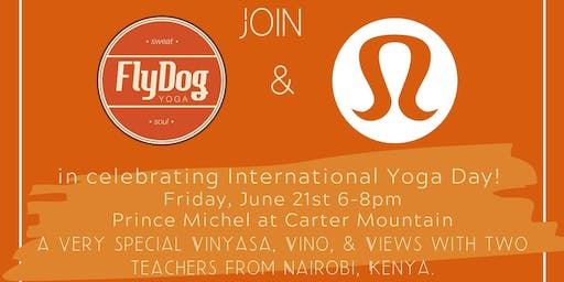 International Day of Yoga with Africa Yoga Project