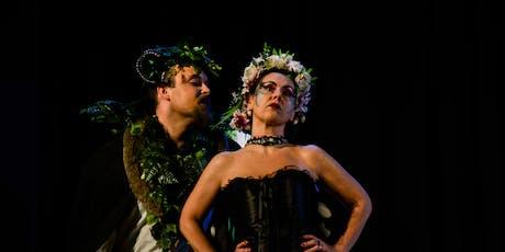 """APERISHAKESPEARE Apericena e Teatro """"Sogno di una  biglietti"""