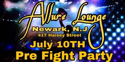 Pre Fight Party Allure Lounge