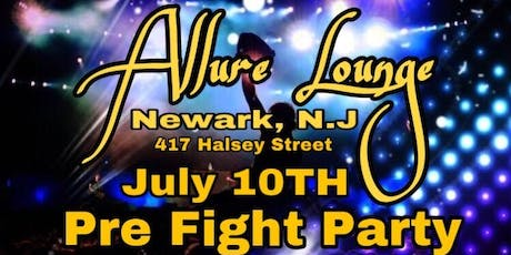 Pre Fight Party Allure Lounge tickets