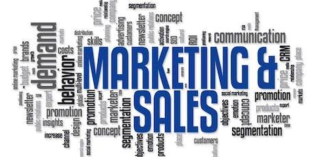 Workshop: Marketing & Sales tickets