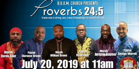 Proverbs 24:5 Men's Conference  tickets