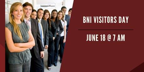 BNI Prime Professionals Visitors Day tickets
