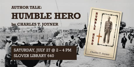 "Author Talk: ""Humble Hero"" tickets"