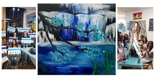 "BYOB Sip & Paint Event - ""Water Falls"""