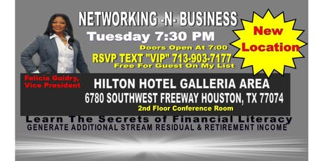 Business Opportunity Hilton-Felicia Guidry tickets