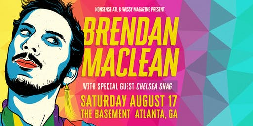 Brendan Maclean with Special Guest Chelsea Shag