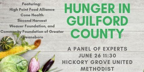 Hunger in Guilford County: An Assessment from the Experts tickets