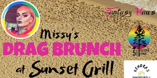 Missy's Drag Brunch at Sunset Grill