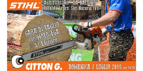 Gara di Taglio con Motosega - STIHL partner - CITTON GIANNANTONIO & C. Snc. biglietti
