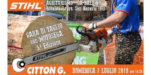 Gara di Taglio con Motosega - STIHL partner - CITTON GIANNANTONIO & C. Snc.