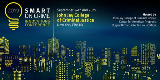 2019 Smart On Crime Innovations Conference - Attendee Registration