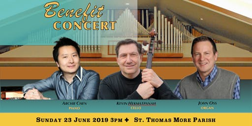 Benefit Concert with pianist Archie Chen and Friends