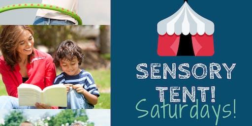 Sensory Tent Saturdays!