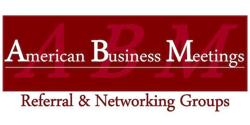 Networking Lunch (ABM Bensalem Chapter)
