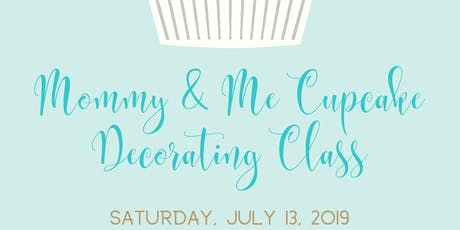 Mommy & Me Cupcake Decorating Class tickets