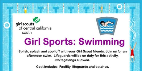 Girl Sports: Swimming - Tulare tickets