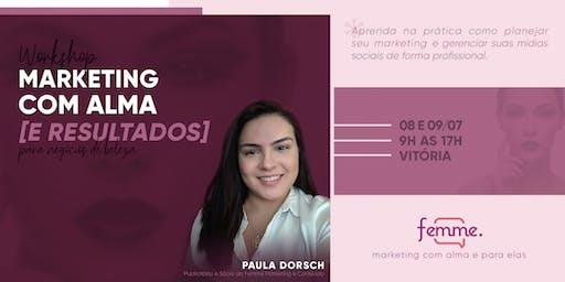 Workshop Marketing com Alma [e resultados] | Para negócios de moda e beleza
