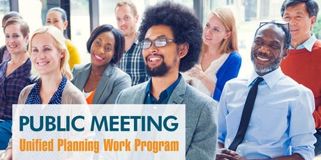 Public Meeting for the Unified Planning Work Program tickets