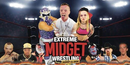 Extreme Midget Wrestling - Baddest Lil Show at UltraStar
