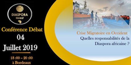 Crise migratoire en occident: Quelles responsabilités de la Diaspora? billets