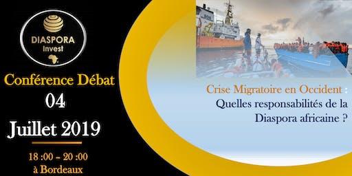 Crise migratoire en occident: Quelles responsabilités de la Diaspora?