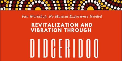 Didgeridoo Workshop CEs for LMTs