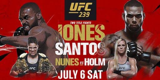 D&B Milpitas/San Jose, CA - UFC 239: Jones vs. Santos/Nunes vs. Holm