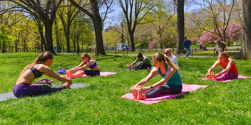 Yoga in Central Park + Live African Drums  + Picnic