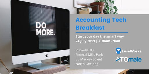 Making it work, smarter: Accounting technology breakfast