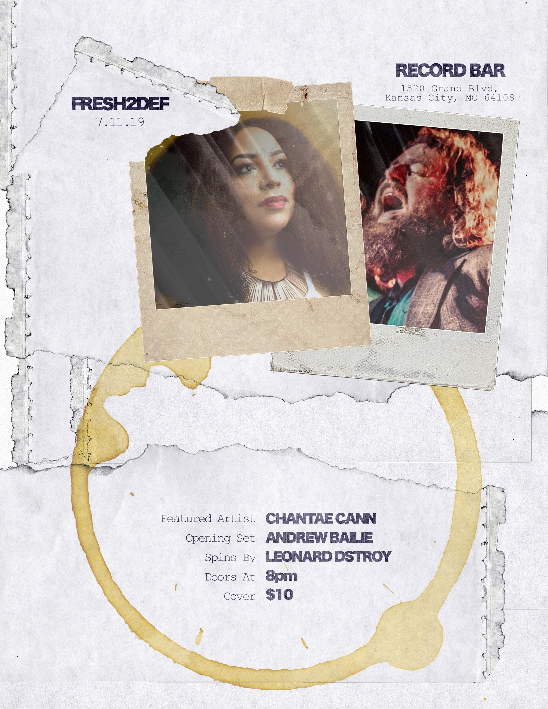 Fresh2Def : Chantae Cann, Andrew Bailie, Spins by Leonard Dstroy
