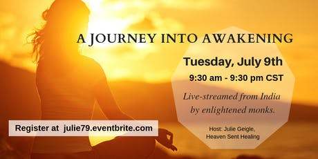 A Journey into Awakening: Finding Peace in a Chaotic World tickets