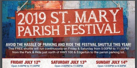 St. Mary Parish Festival tickets