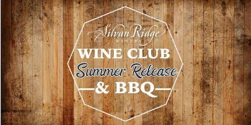 Wine Club Summer Release & BBQ