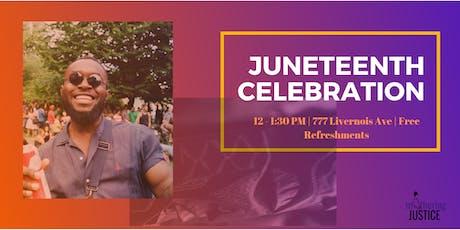 Juneteenth Open House Celebration  tickets