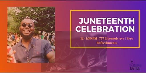 Juneteenth Open House Celebration