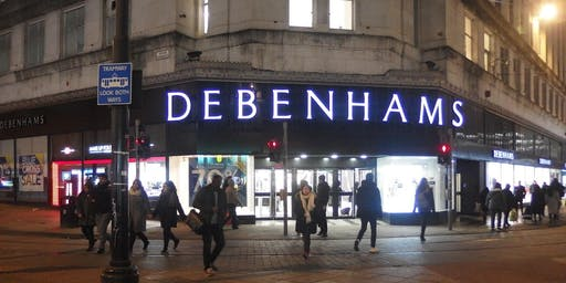 Happy Hour Networking July - Open Networking in Debenhams, Central Manchester