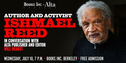 Author and Activist Ishmael Reed