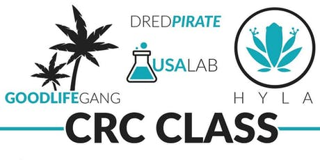 CRC class with @dred_pirate tickets