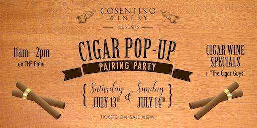 Cosentino Cigar Pop-Up Pairing