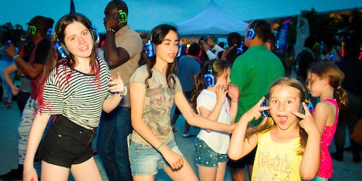 All Ages Silent Disco Party @ Downtown Container Park