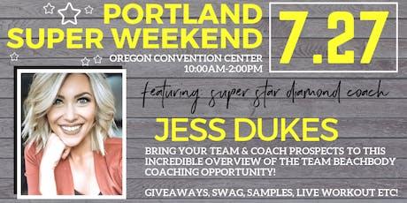 July Portland Beachbody Stronger Together Super Weekend tickets